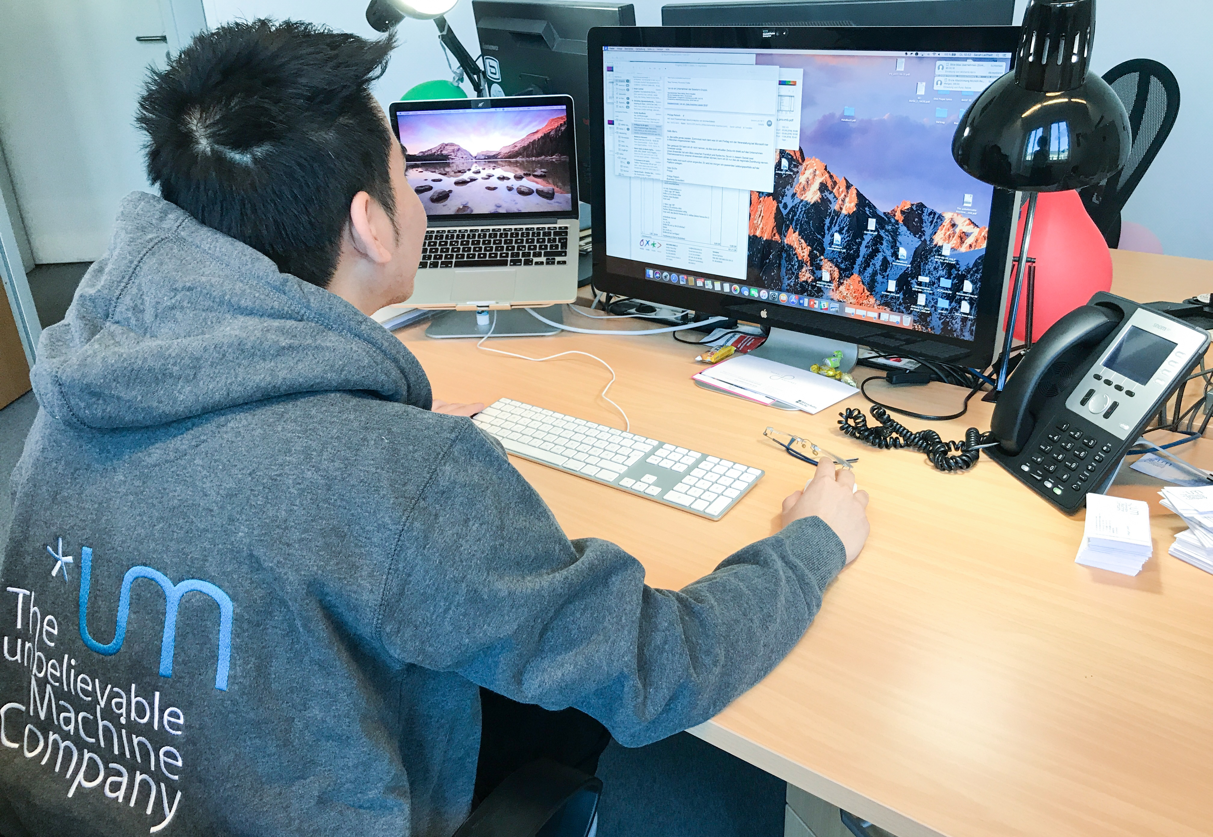 Interview with the apprentice: Dinh Ha Nguyen about the training at *um
