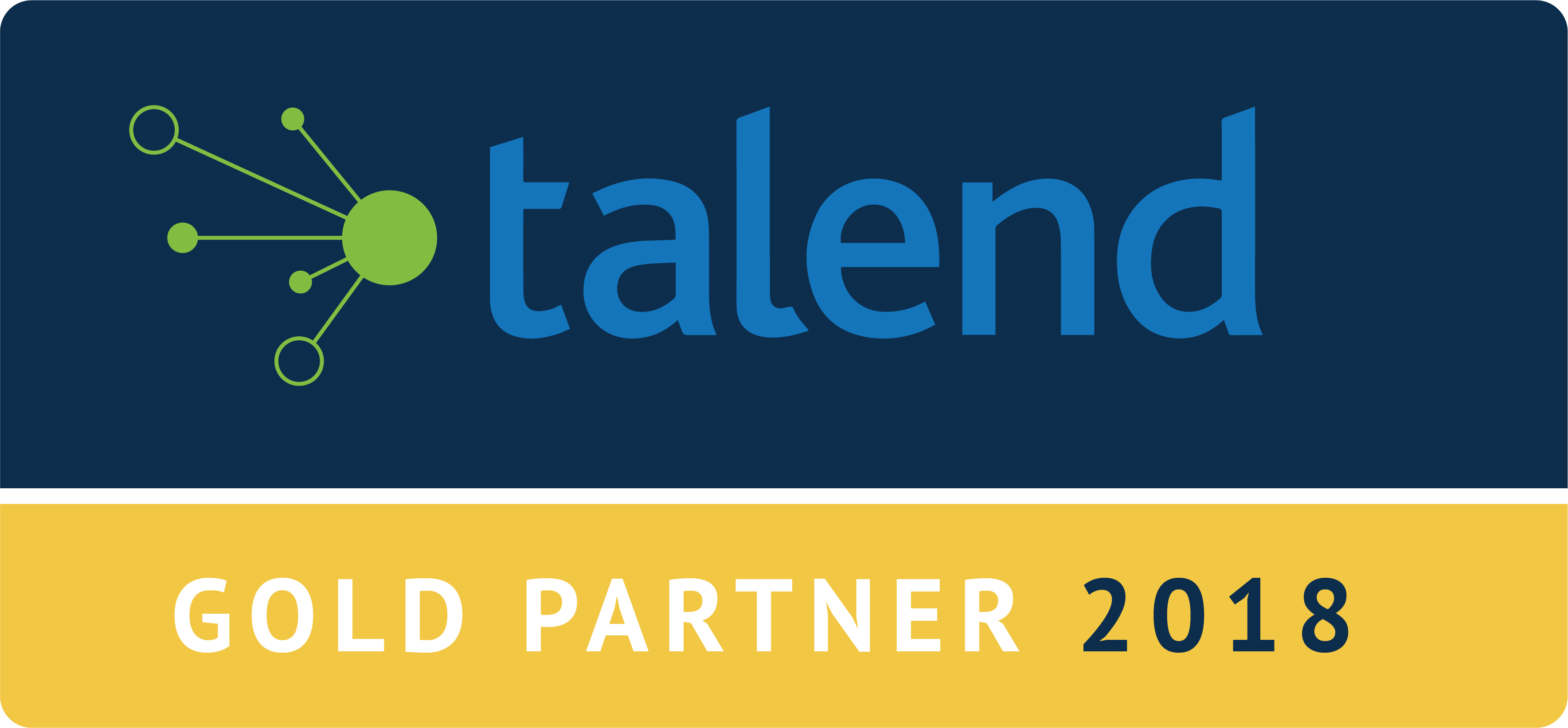 The unbelievable Machine Company is talend Gold Partner 2018