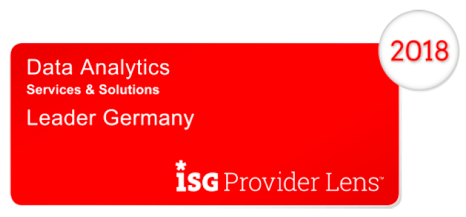 Unbelievable Machine/Basefarm ist ISG Data Analytics Leader 2018